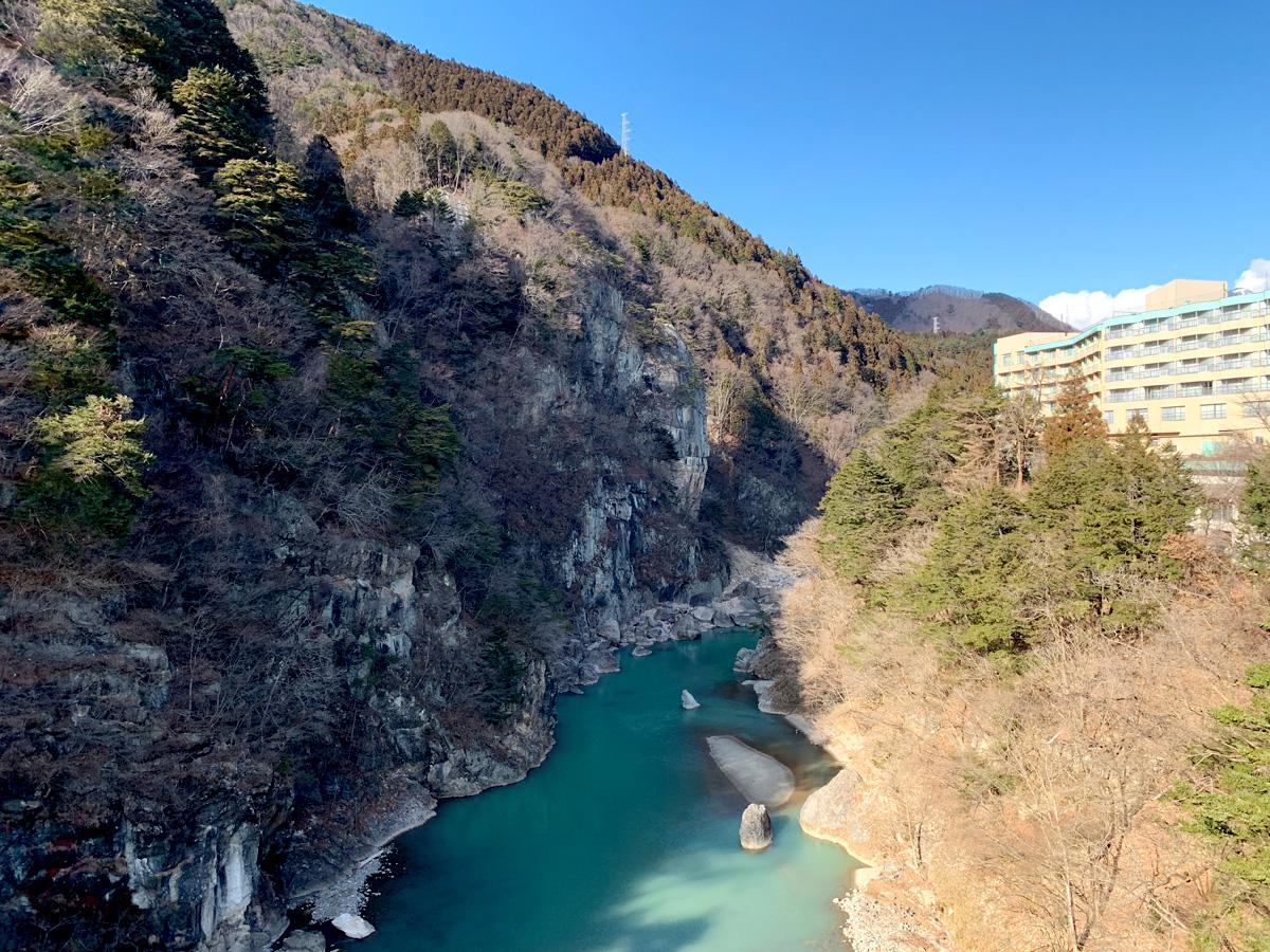 1泊2日鬼怒川旅行 サンシャイン鬼怒川 風景