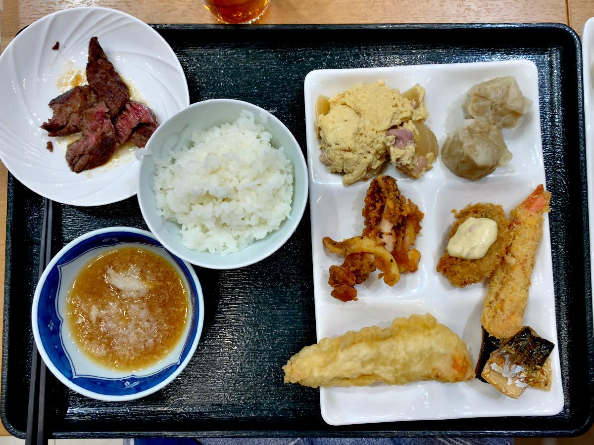 1泊2日鬼怒川旅行 サンシャイン鬼怒川 バイキング