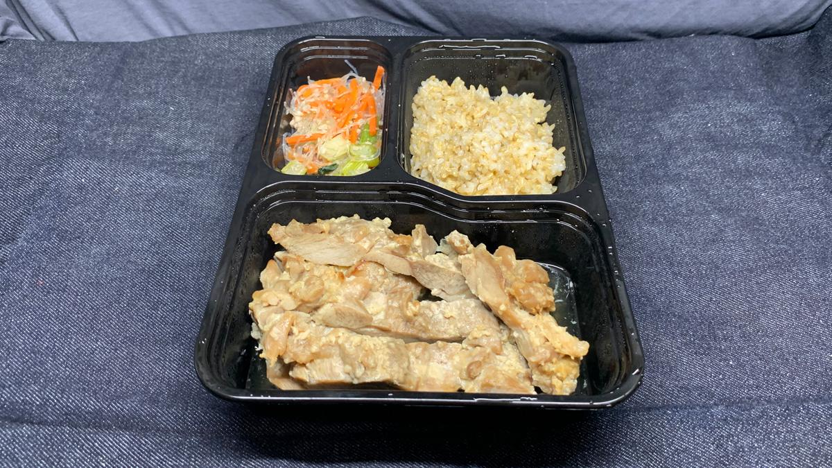 マッスルデリ ゲイン 鶏肉の醤油麹焼きセット