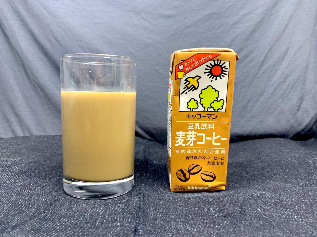 キッコーマン 豆乳飲料 麦芽コーヒー