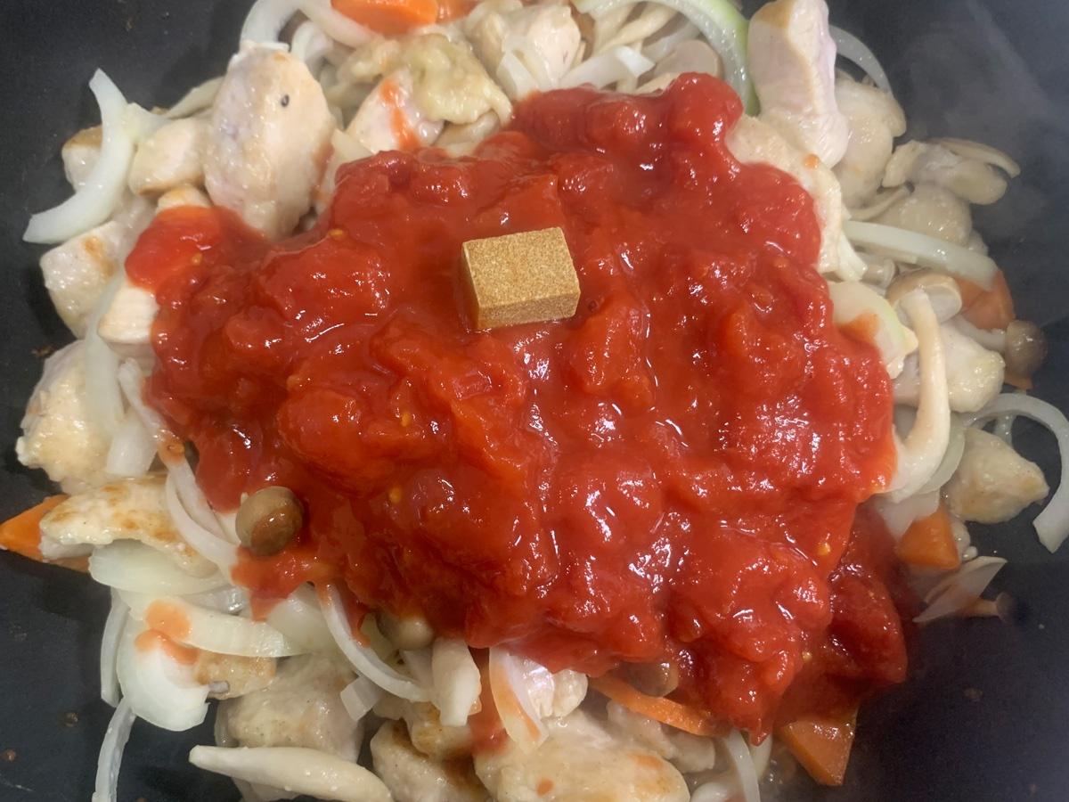 鶏肉のトマト煮 作り方 レシピ