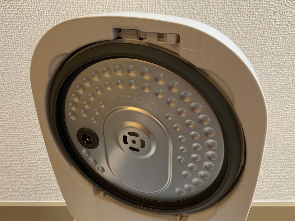 アイリスオーヤマ IH炊飯器 RC-IK50-W 蓋