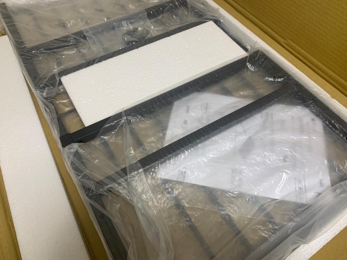 アイリスプラザ ローテーブル BRTHLTBL 開封