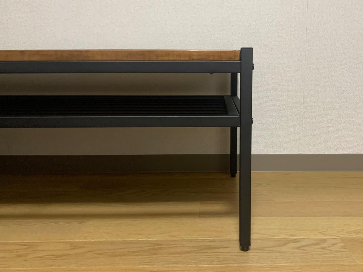 アイリスプラザ ローテーブル BRTHLTBL 商品サイズ:幅約90×奥行約48×高さ約37.5cm